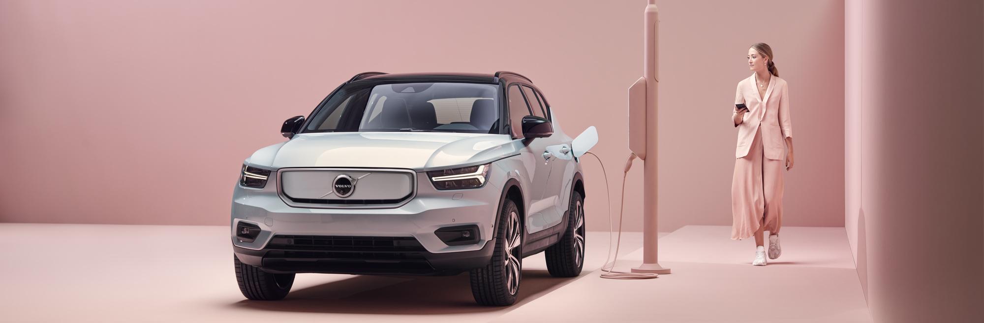Nouveauté: Volvo XC40 Recharge 100% électrique